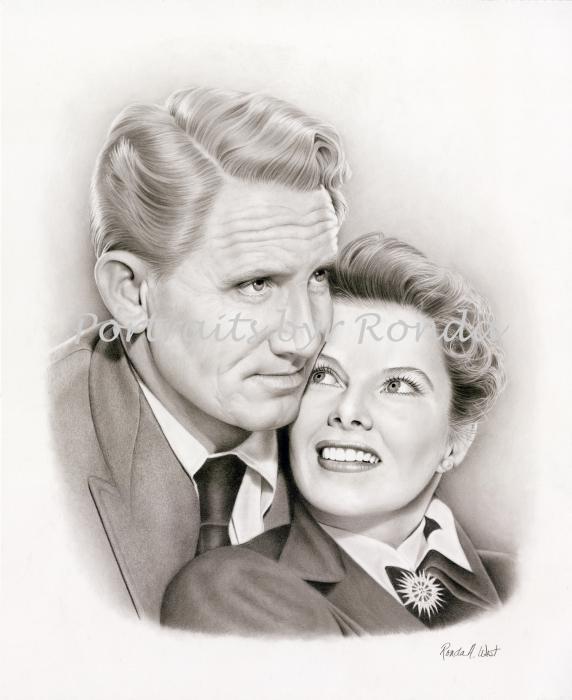 Spencer Tracy, Katharine Hepburn por rondawest